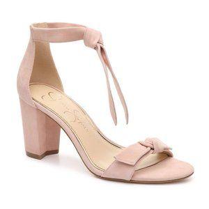 Jessica Simpson Mystie Sandal Nude Sz 8 NWOT